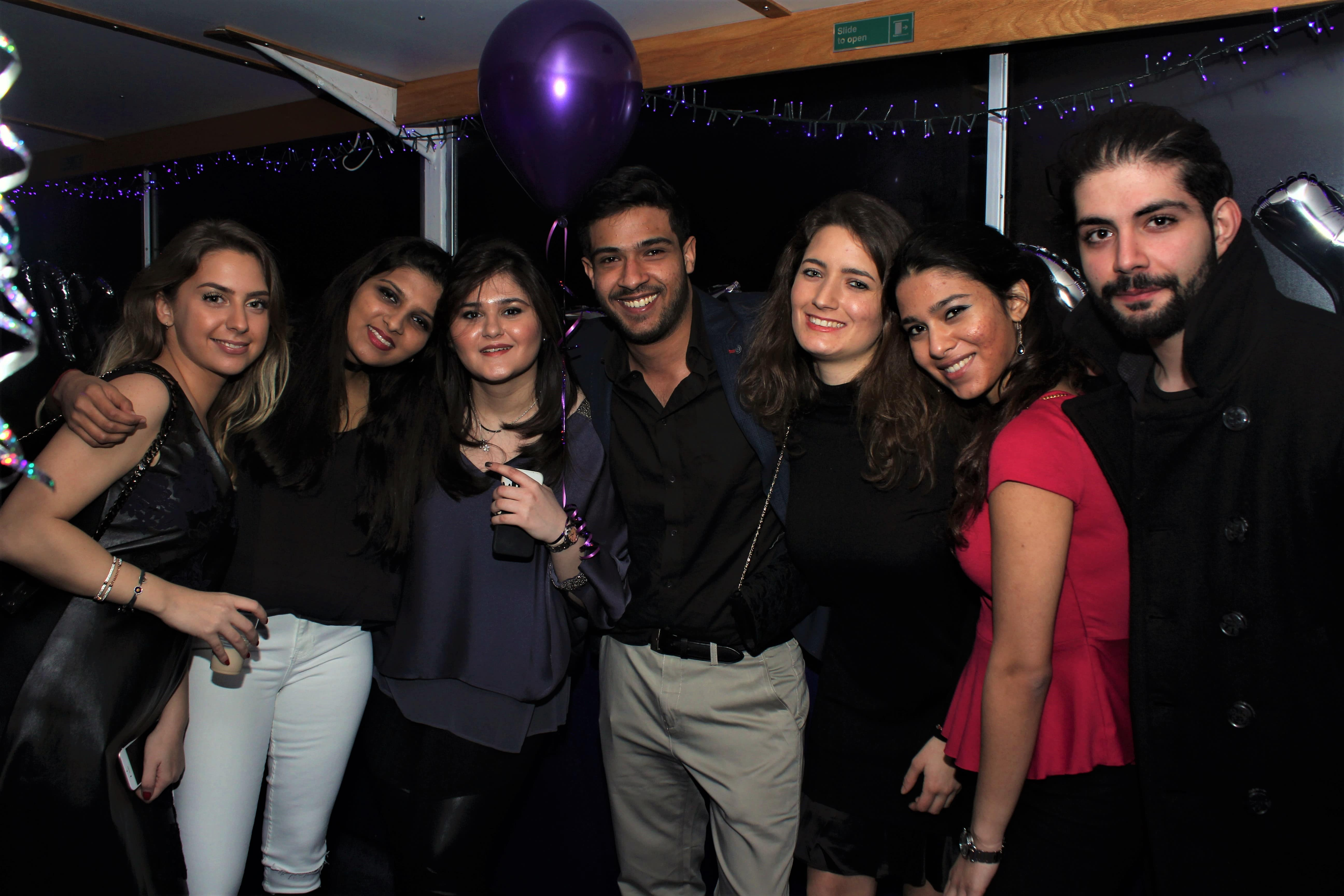 Christmas Boat Party London.Absolute Party Cruises London